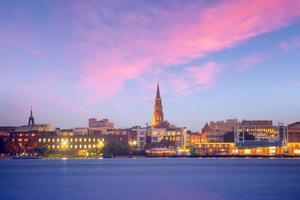 Skyline of Charleston, South Carolina, USA photo