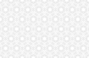 Arabic pattern seamless background in islamic style. Geometric muslim ornament backdrop. Vector EPS10 wallpaper illustration