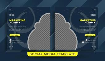 volante o plantilla de redes sociales tema empresarial