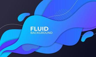blue fluid background illustration for element graphic vector