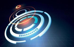 Gradient Technology Background vector