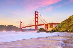 Golden Gate Bridge in San Francisco, California photo