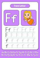 escribir letras f vector