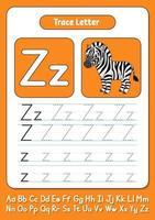 escribir letras z vector