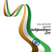 feliz día de la independencia de la india vector plantilla diseño ilustración