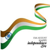 Happy India Independence Day Vector Template Design Illustration
