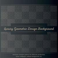 Luxury ornamental design background in gold color vector