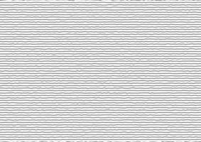 Abstract thin black stripes rough horizontal lines on white background. vector