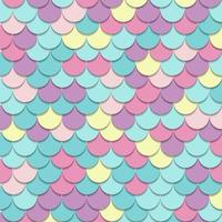 Abstract pattern fish scale motif pastel color background and texture. vector