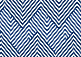 Patrón de sierra de línea rayada azul abstracta sobre fondo blanco y textura. vector