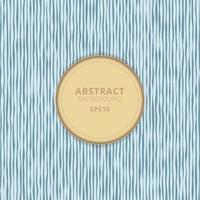 Abstract background blue paper rough lines pattern with yellow circle frame space for your text. vector