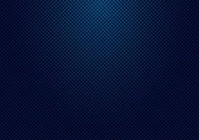 Abstract striped dark blue square pattern grid background and texture with lighting. vector