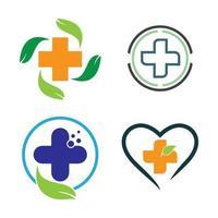 imagenes medicas logo vector