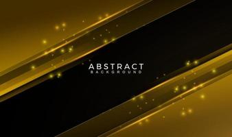 Modern Abstract geometric gold and black color Background. Motion, sport, lines. Poster, wallpaper, Landing page. Vector Illustration