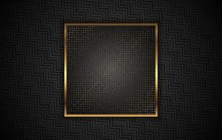 Luxury Gold Background With Light Decoration Vector