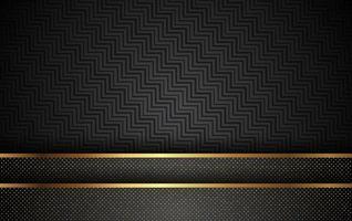 fondo dorado de lujo con vector de decoración ligera