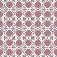 Abstract floral asian ornament. Seamless geometric pattern with swirl line ornament in oriental style. vector