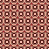 patrón geométrico abstracto. origen étnico oriental floral. adorno árabe. motivos ornamentales de las pinturas de antiguos patrones de telas indias. vector