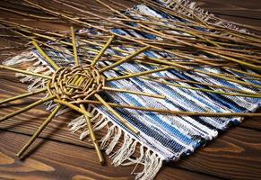 Wicker basket project photo