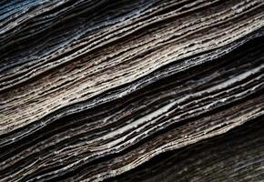 hojas de papel rugosas foto