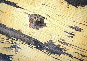 pintura descascarada en madera foto