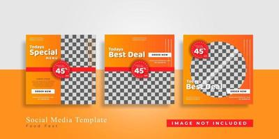 Editable Modern Template. Discount Promo Template. Social Media Post Template. Social Media Banner