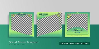 Editable Modern Template. Discount Promo Template. Social Media Post Template. Social Media Banner vector
