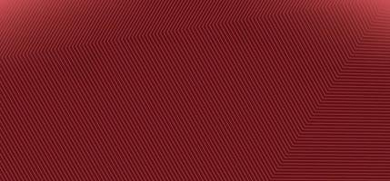 Abstract modern red background with corner lines pattern texture. vector