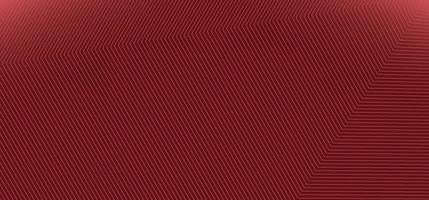 Fondo rojo moderno abstracto con textura de patrón de líneas de esquina. vector