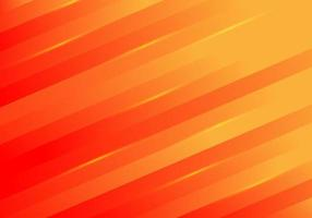 Abstract yellow diagonal stripes lines light on red background vector