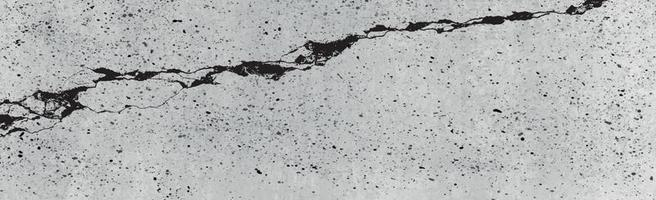 Panoramic texture of realistic gray concrete - Vector