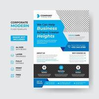 Corporate Business Flyer Template Design vector