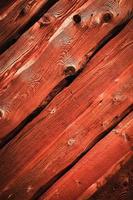 madera roja vieja foto