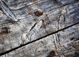 Detalle de viejas tablas de madera desgastada foto
