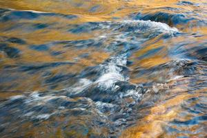 Waves in a river photo