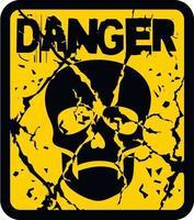 skull, grunge vintage design t shirts vector
