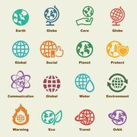 elementos del vector de la tierra