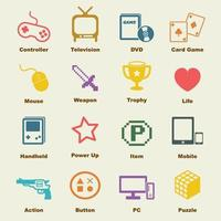 game vector elements