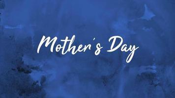 animação texto dia das mães sobre fundo rosa moda e minimalismo video