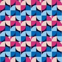 patrón abstracto sin fisuras. vector de flores de tulipán