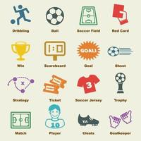 soccer vector elements