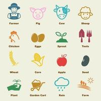 agriculture vector elements