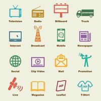 advertising vector elements