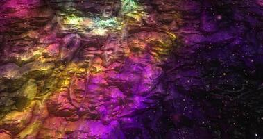 fond liquide coloré abstrait avec une texture dégradée video