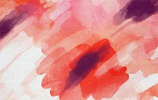 Beautiful Watercolor Background In Red Hues vector