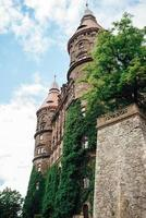 swiebodzice, polonia 2017- castillo ksiaz en swiebodzice polonia foto