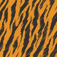Tiger Spots Seamless Pattern Background Animal Skins Print vector