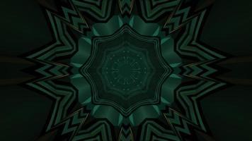 padrão geométrico de ilustração 3d futurista video
