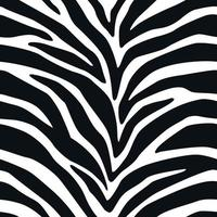 patrón sin costuras cebra líneas fondo animal rayas piel impresión vector