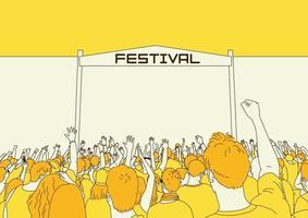 Summer Festival illustration vector